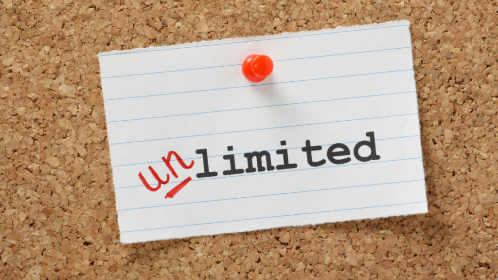 unlimited, photo from canva