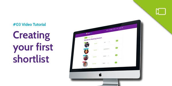 Creating your first shortlist