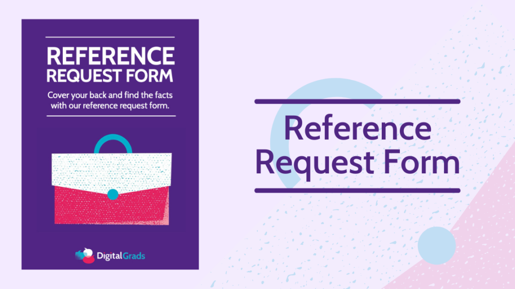 Reference request form featured image