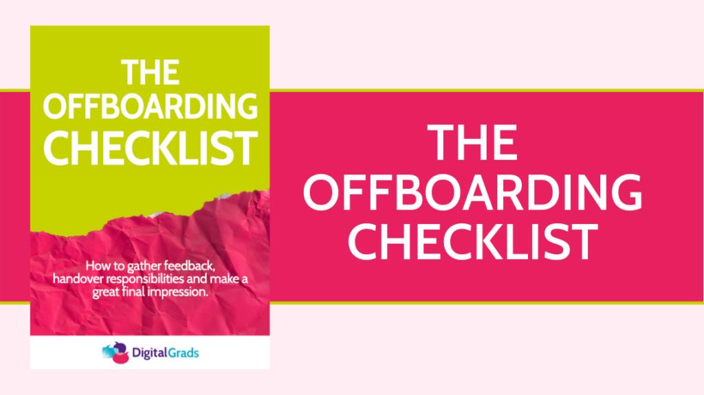 The Offboarding Checklist downlaod
